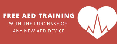 Free Training with purchase of AED